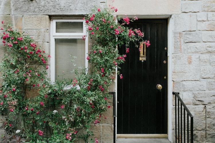 flower Door Design