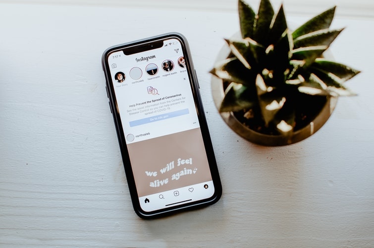 Top 6 free template apps for creating Instagram stories