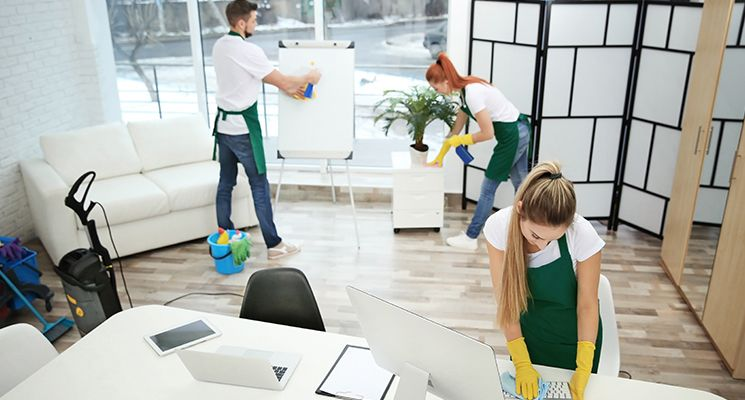 Save Time and Money with Cleaning Services at Your Workplace